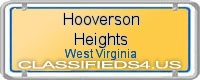 Hooverson Heights board